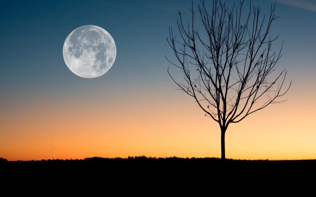 volle maan van maart 2019