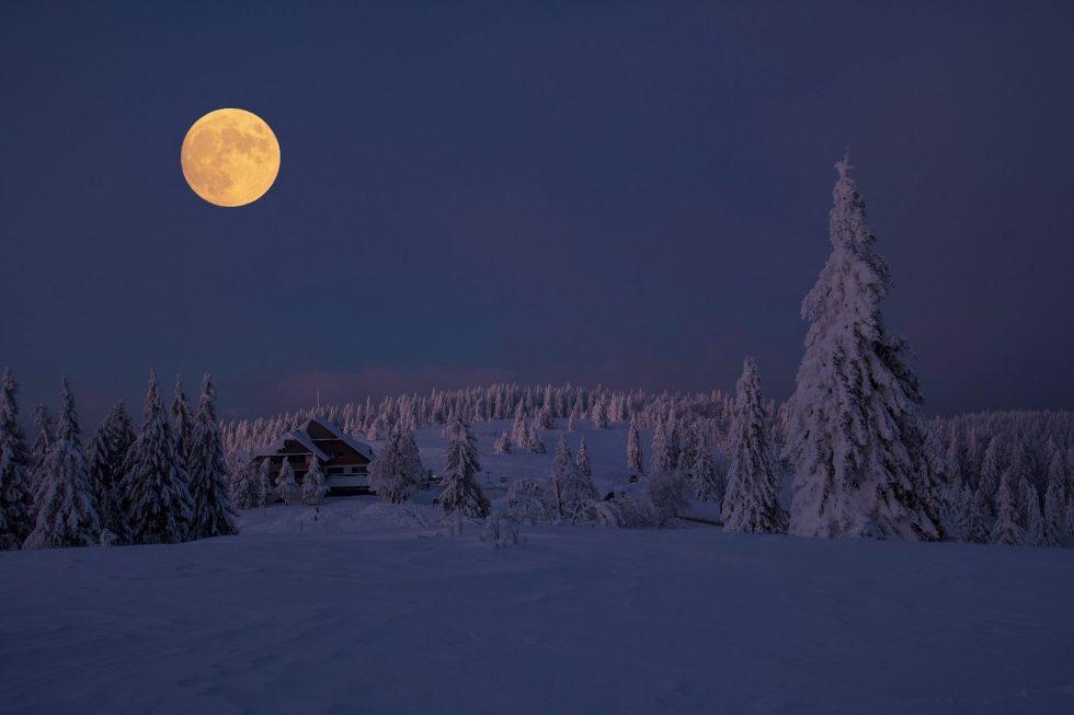 Volle maan van februari