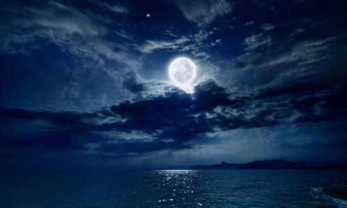 De energie van de volle maan van 27 april