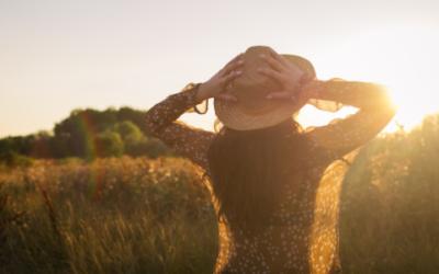 De energie van de zomer versterkt je persoonlijke groei
